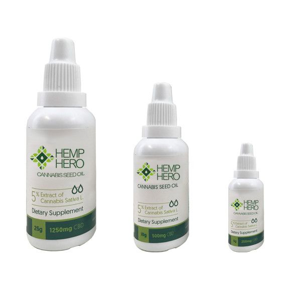 hemp hero cbd oil