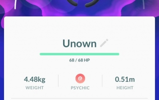 shiny unknown